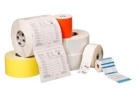 Zebra Paper Label Peelable